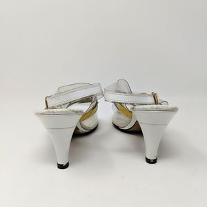 Vintage Shoes - Vtg California Magdesians 80's Color & Clear Heels